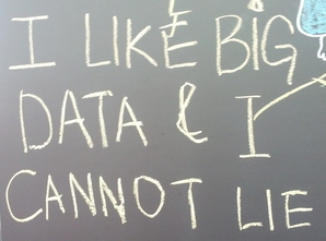 I like big data and I cannot lie.