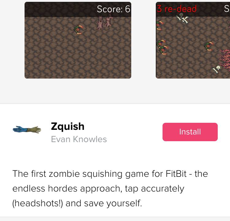 Zquish on the app gallery